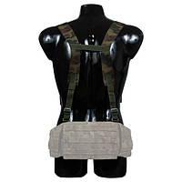 Плечевые лямки-подтяжки для разгрузочного пояса