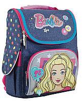 Школьный каркасный рюкзак 1 Вересня yes h-11 barbie jeans для девочки (553271)