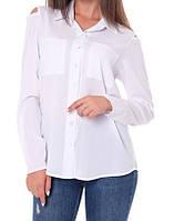 Рубашка женская (креп-шифон), фото 1