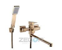 Zegor LEB7-A-T Смеситель для ванны с длинным изливом