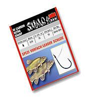 Крючок с поводком  DAM Sumo Spezi Schleie (линь) №10  10шт. (blue)