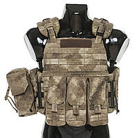 Бронежилет Plastoon 3 AK, A-Tacs AU