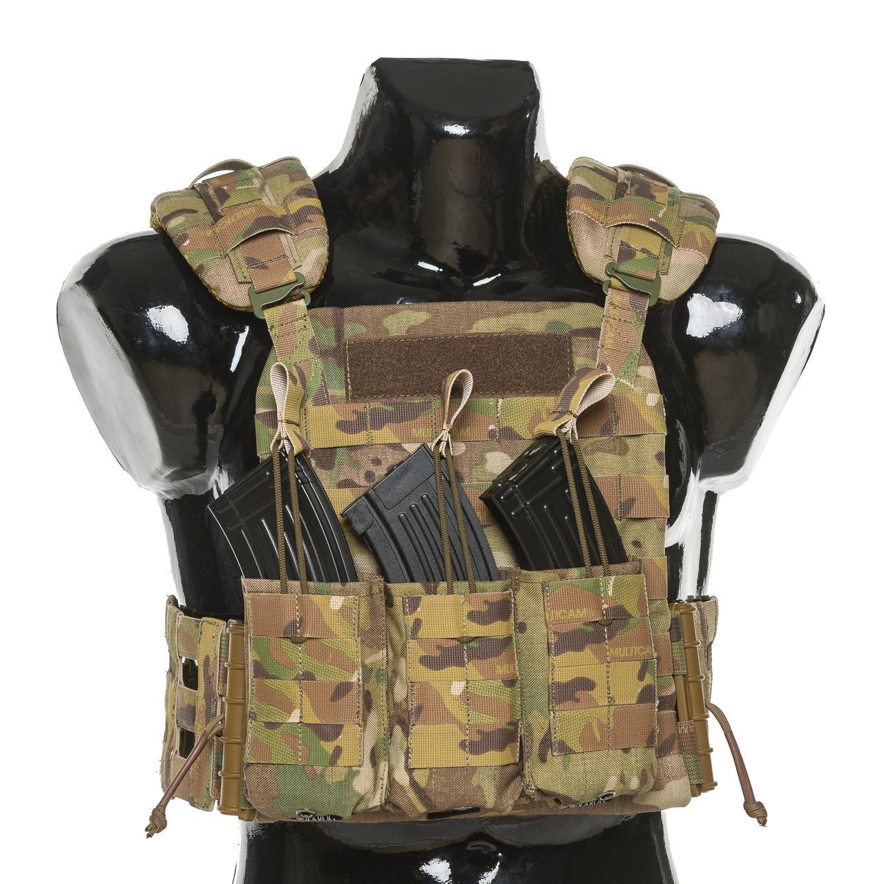 Бронежилет Plastoon Plate Carrier LtC, Multicam, AK-Open