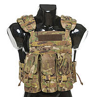 Бронежилет Plastoon Plate Carrier LtC, Multicam, AK, фото 1