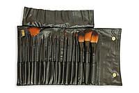 Набор кистей для макияжа Relouis,18 штук (Черный)