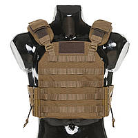 Бронежилет Plastoon Plate Carrier LtC, Coyote, фото 1