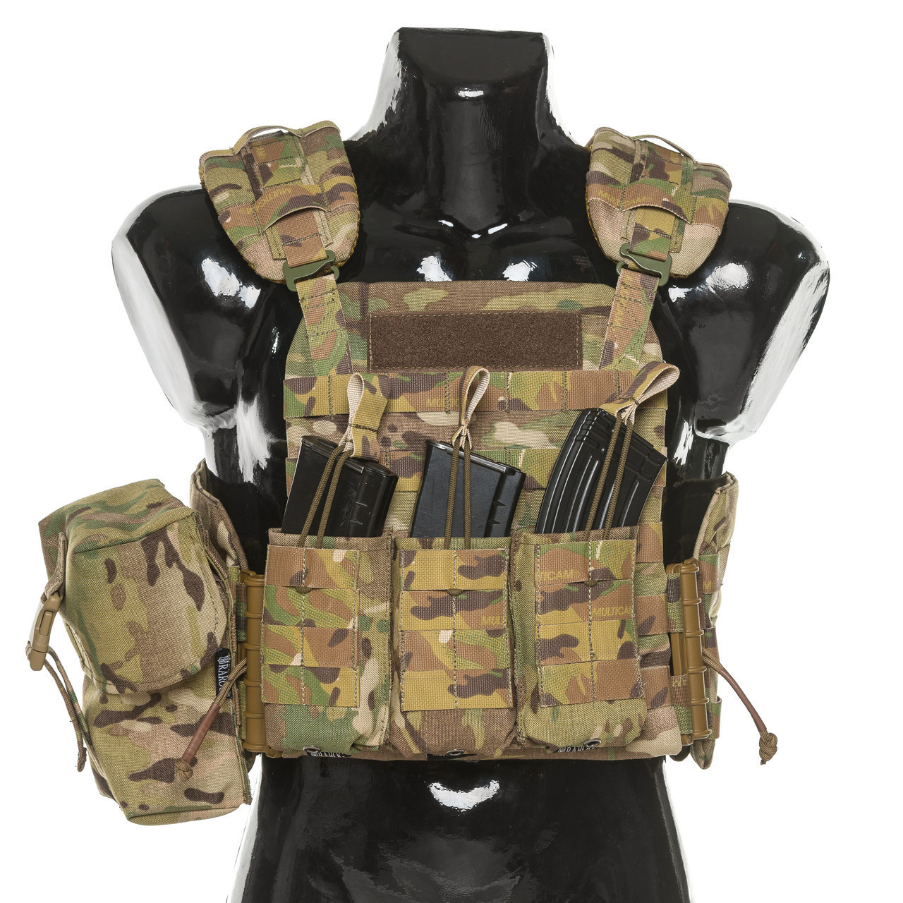 Бронежилет Plastoon Plate Carrier StC, Multicam, AK-Open