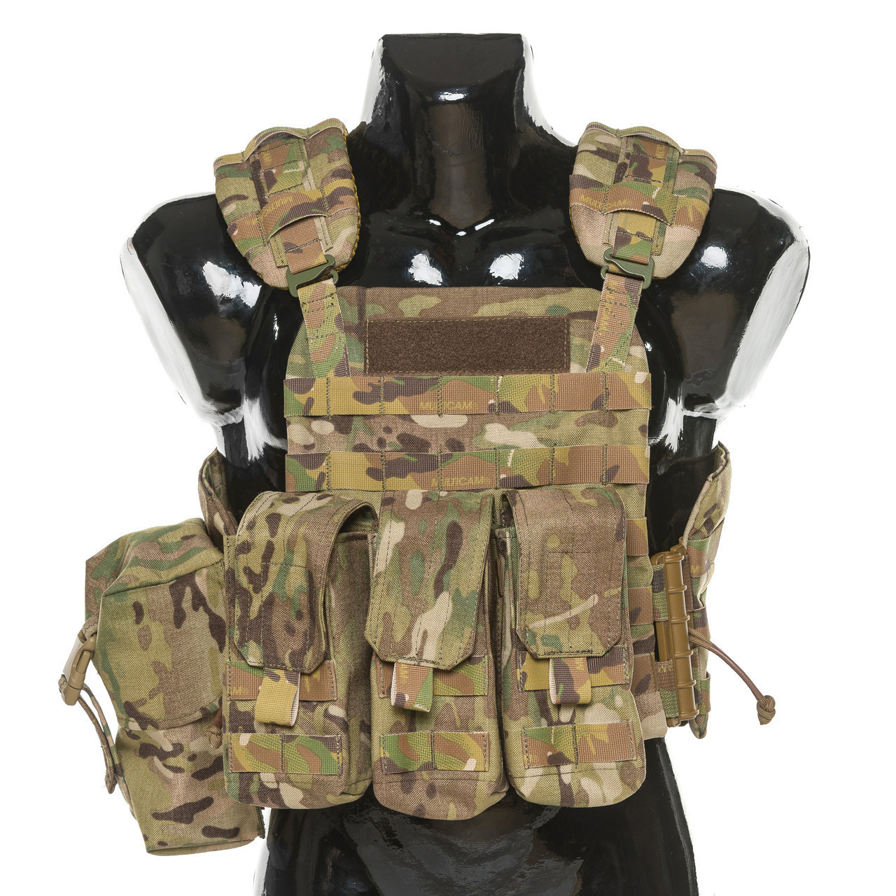 Бронежилет Plastoon Plate Carrier StC, Multicam, AK