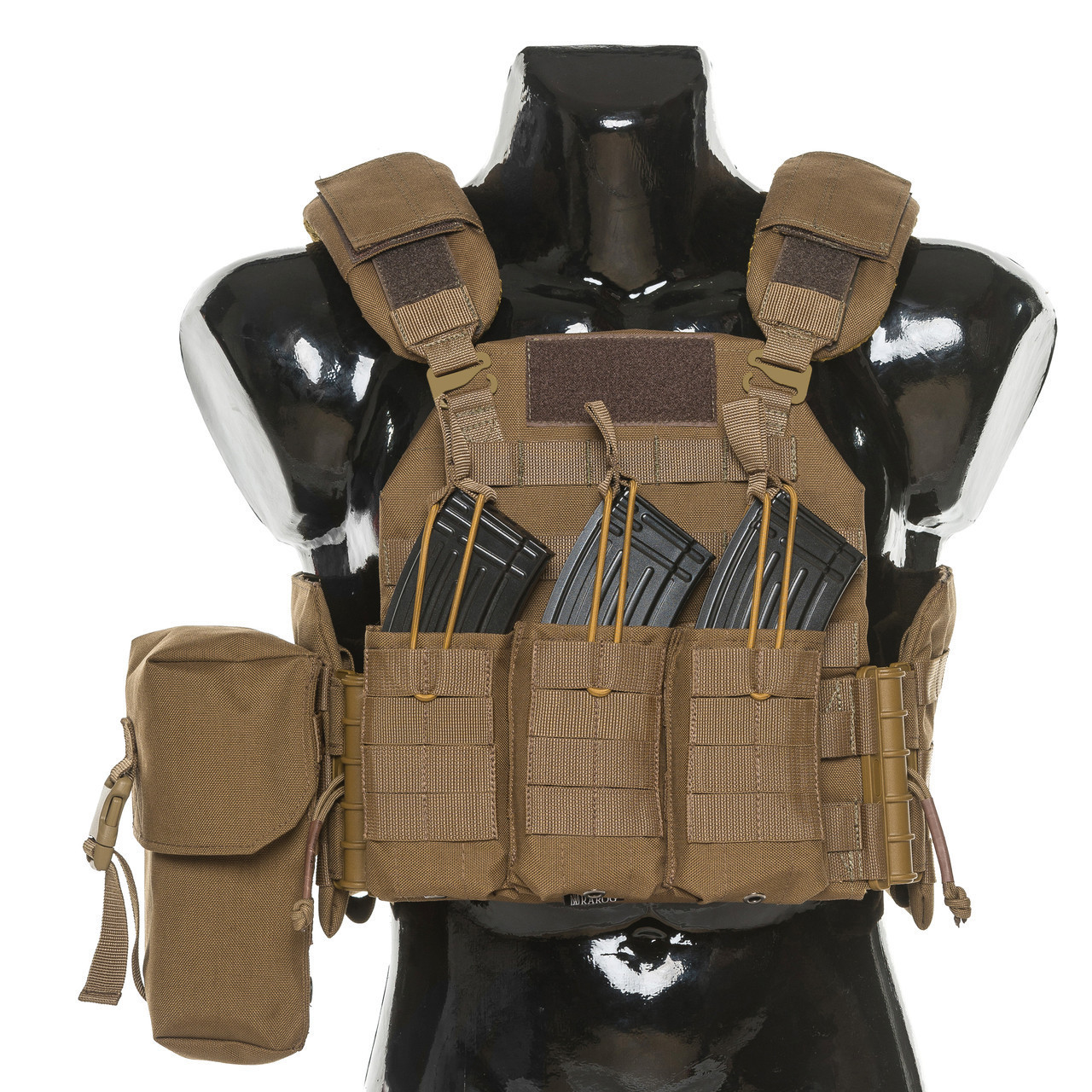 Бронежилет Plastoon Plate Carrier StC, Coyote, AK-Open