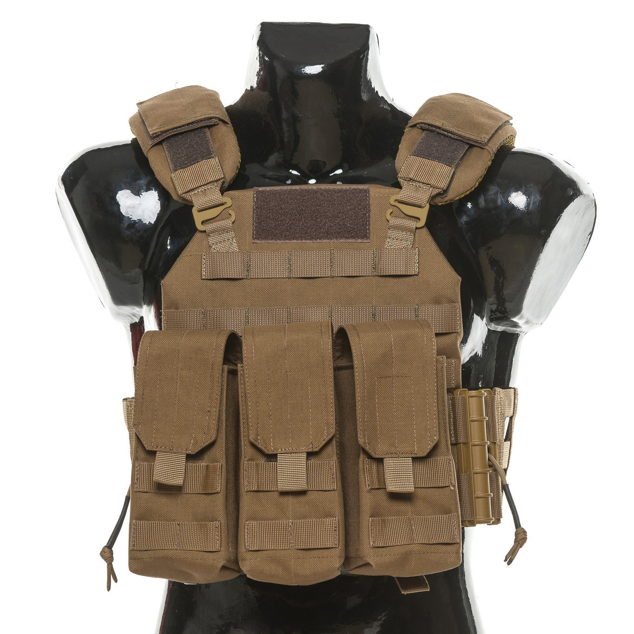 Бронежилет Plastoon Plate Carrier LtC, Coyote, AK