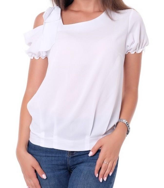 Блуза женская (креп-шифон), фото 1