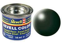 Краска № 363 темно-зеленая шелковисто-матовая dark green silk 14ml (32363)