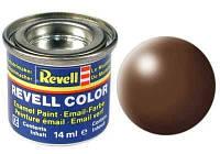 Краска № 381 коричневая шелковисто-матовая brown silk 14ml (32381)