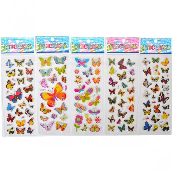 Наклейка JF Прозрачная «Бабочки» JF-1242-50