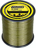 Леска DAM MAD X-TRA Tuff Carp Line  1400м 0,31мм  6,6кг (olive green)