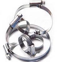 Хомут металлический W1 оцинкованный CORT 130-150 мм 20 шт