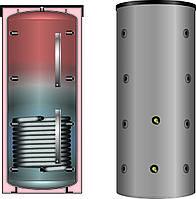 Буферная емкость для отопления Meibes PS-GWT ECO 1000 c встроенным гладкотрубным теплообменником
