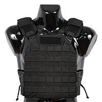 Бронежилет Plastoon Plate Carrier LtC, Black, фото 1