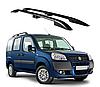 Рейлинги на Fiat Doblo 2000-2010 с пластиковым креплением