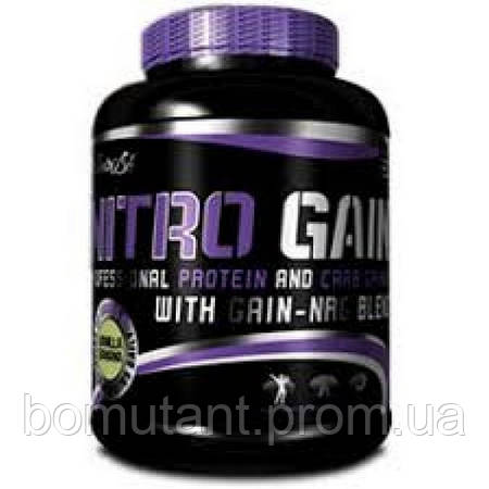 Nitro Gain 2,27 кг ваниль BioTech