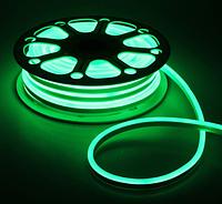 Светодиодный неон 2835, Зеленый, 120шт/м, 10W/m, IP68, 12V