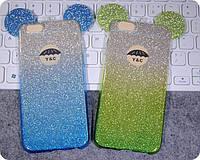 Mickey TPU Case с блестками for Samsung J510 (J5 2016)