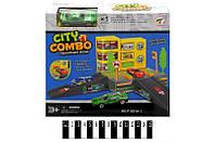 Детский паркинг City Combo Р1201А-1, гараж