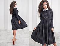Женское платье с длинным рукавом 1047 ПА