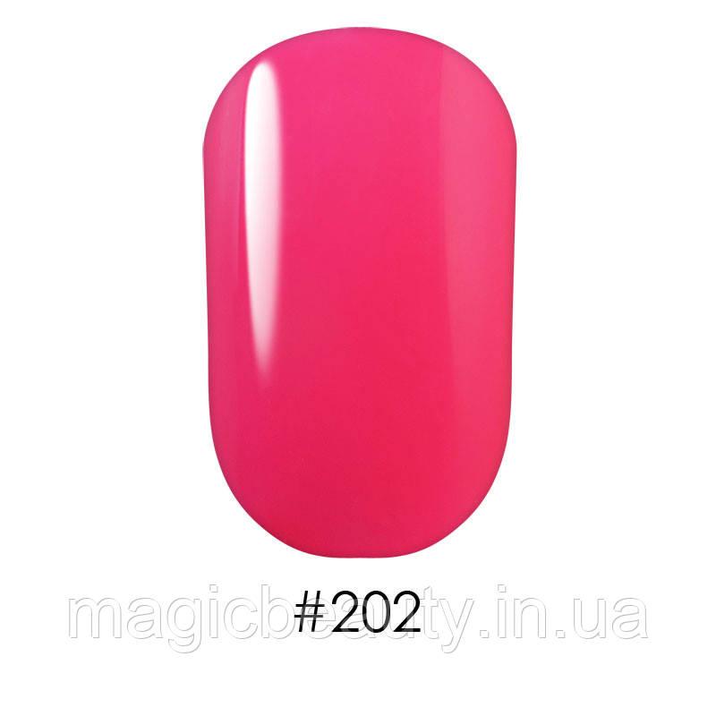 Гель-лак G.La Color №202 яркий малиновый, 10 мл