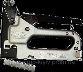 Сшиватель PREMIUM line для скоб тип A/53 с обрезиненной ручкой HTtools