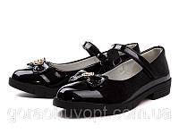 Туфли рр 32-37 Clibee черные