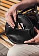 """Сумка мужская кожаная универсальная ручной работы """"Harper"""". Цвет черный, фото 9"""