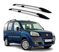 Рейлинги на Fiat Doblo 2000-2010 с металлическим креплением , фото 1