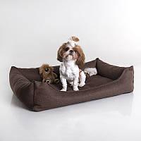 Dog Bingle Dark-brown - Бингл (мягкий лежак с бортами для собак)