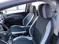 Авточехлы на сидения Шевроле Авео Т300 2011+