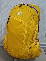 Спортивный городской стильный текстильный рюкзак ONE POLAR 2171 желтый