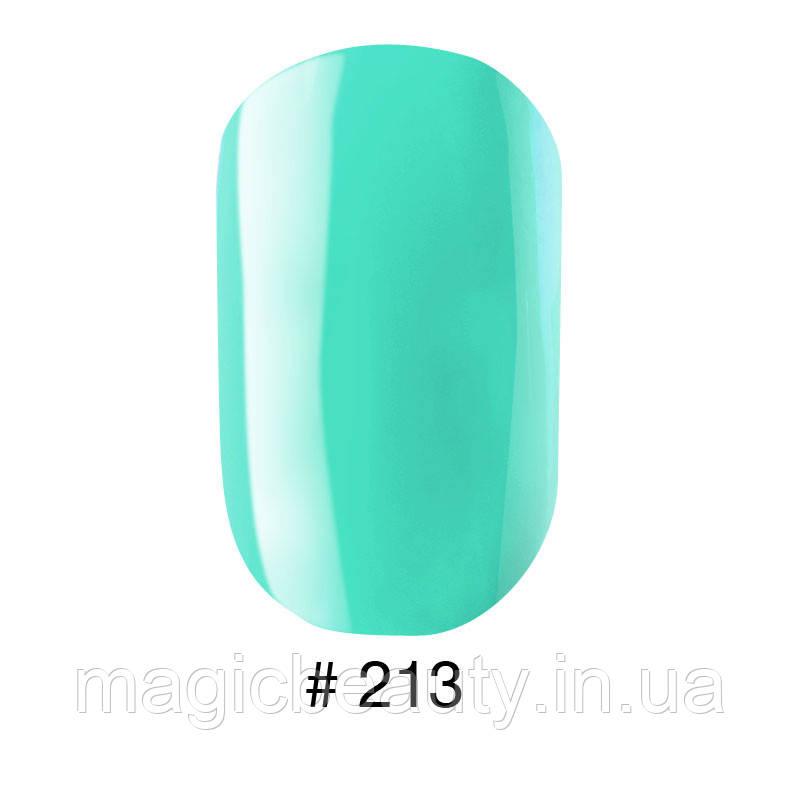 Гель-лак G.La Color №213 бирюзовый, 10 мл
