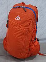 Спортивный городской стильный текстильный рюкзак ONE POLAR 2171 оранжевый
