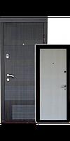 Двери входные Евро Дверь Evro Door 818 венге/дуб беленый (2050×960мм)