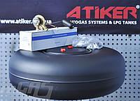 Комплект ГБО-2 на ВАЗ 2199,2108,09 Карбюратор Solex.Баллон 43л под запаску.(термопластик/Tomasetto)