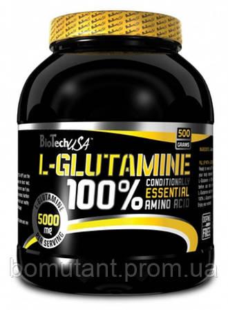 100% L-Glutamine 500 гр BioTech