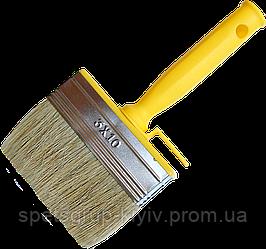 Кисть-макловица тип Мини 30 мм х 70 мм пластиковая ручка HTtools (кисти малярные)