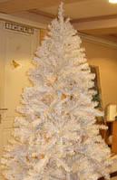 Елка искусственная новогодняя белая 210 см. , фото 1