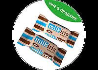Конфеты Фадж «MilkIris какао» 2,3 кг. ТМ Клим