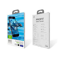 Защитное стекло iPhone 6/6S (Black) New Baseus 0.23 PET Soft 3D Tempered Glass Film (ZS-0172)