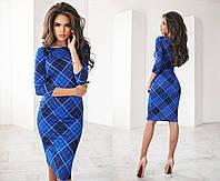 Женское платье принт геометрия 1084.8 ПА