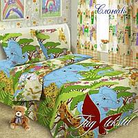 Комплект постельного белья для детей 1.5 Слоник (ДП-Слоник)