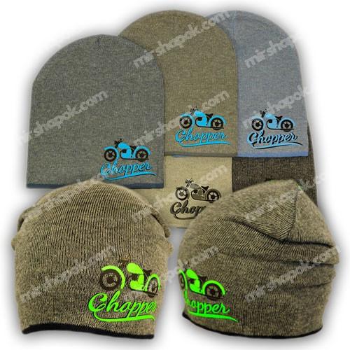 Вязаная шапка для мальчика, KY14
