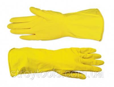 """Перчатки резиновые с внутренним напылением,тип """"Латекс"""",М,Technics,16-101,Киев."""