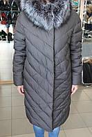 Куртка женская зима VERALBA VQ -239 MY  Т.серый